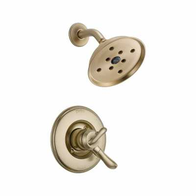 T17294-CZ Linden Shower Faucet Trim with Lever Handles and H2okinetic Technology - Wayfair