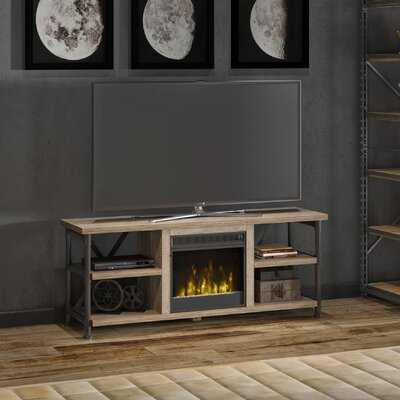 "Millen TV Stand for TVs up to 60"" with Fireplace Included - Wayfair"