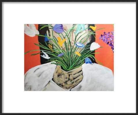 Bloom Girl II - Artfully Walls