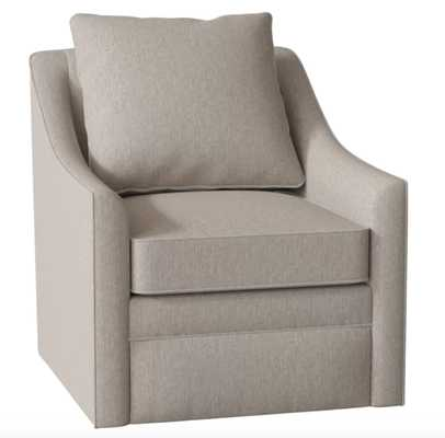Quincy Swivel Chair - Max Stone - Birch Lane