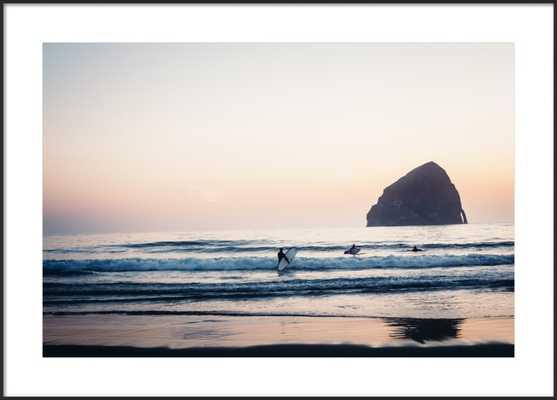 Cape Kiwanda Surfers, 40 x 28 - Artfully Walls