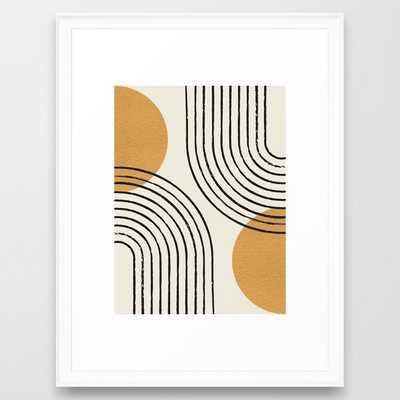 Sun Arch Double - Gold Framed Art Print - Society6