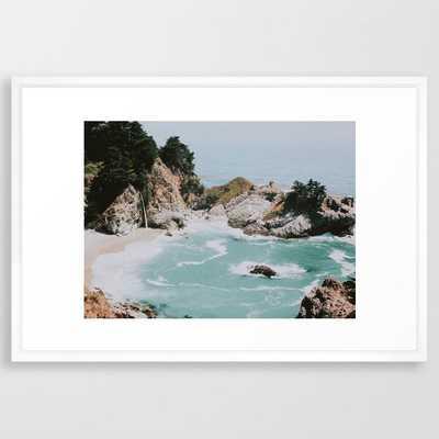 Big Sur Framed Art Print - Society6