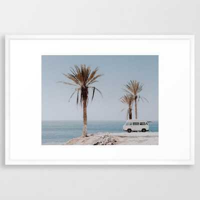 summer road trip Framed Art Print - Society6