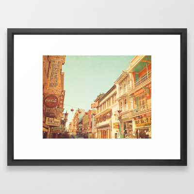 Chinatown, San Francisco - Vector Black - Society6