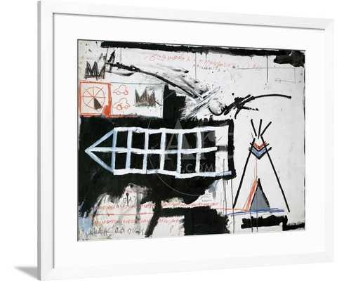 "Untitled (Samo, New York) 40"" x 30"" - art.com"