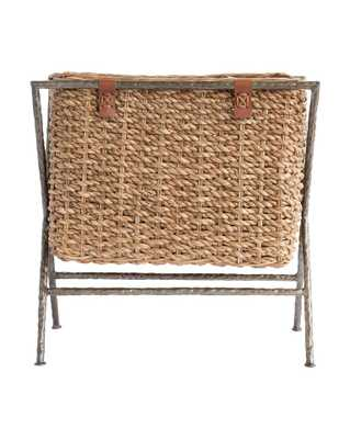 WOVEN SEAGRASS MAGAZINE HOLDER - McGee & Co.