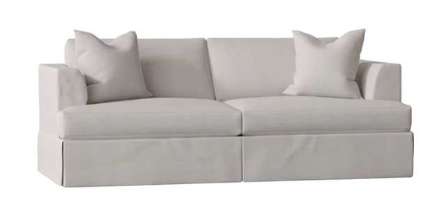 Carly Sofa Bed - SUNBRELLA CAST SILVER - Wayfair