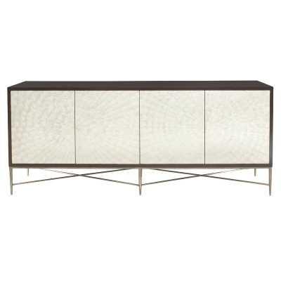 "Adagio 82"" Wide 3 Drawer Gmelina Wood Buffet Table - Wayfair"
