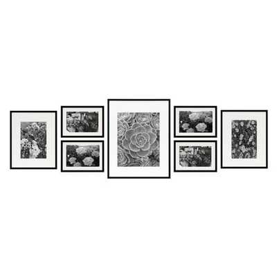 Golden State Art 7 Piece Gallery Wall Picture Frame Set - Hayneedle