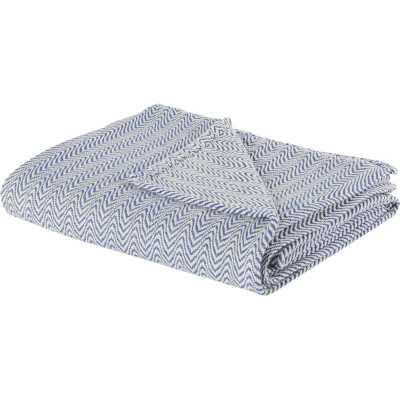 Barmeen Chevron Egyptian Quality Cotton Blanket - AllModern
