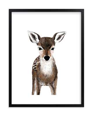 Baby Animal Deer by Cass Loh - Minted
