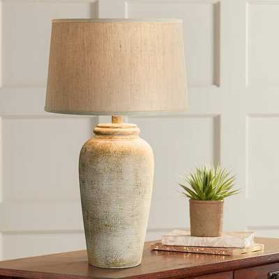 Lechee Sand Stone Table Lamp - Lamps Plus