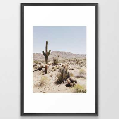 """joshua tree Framed Art Print (26x38"""") - Society6"""