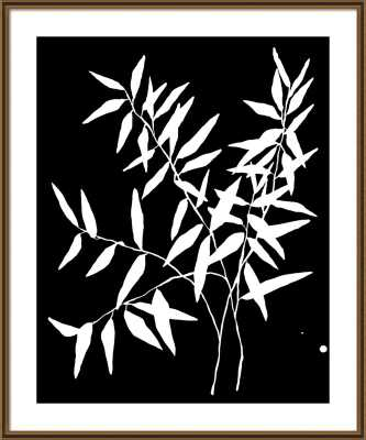 Thin Branch by Kate Roebuck for Artfully Walls - Artfully Walls
