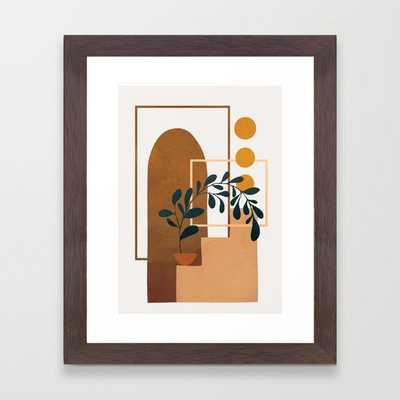 Modern Abstract Art 50 Framed Art Print - Society6