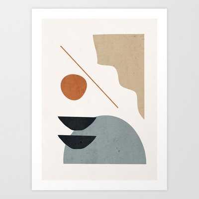 "Abstract Minimal Shapes 29 Art Print by ThingDesign - 13""x17"" - Society6"
