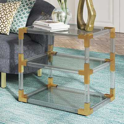 Aresford Acrylic End Table - Wayfair