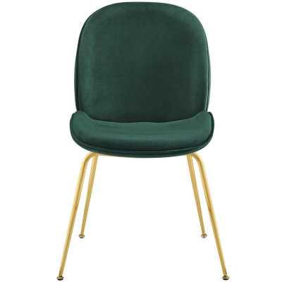 Jaynes Upholstered Velvet Side Chair - Wayfair