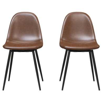 Bowen Upholstered Dining Chair (Set of 2) - Wayfair