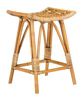 Archer Rattan Stool - Roam Common