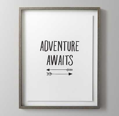 BLACK-AND-WHITE ILLUSTRATED QUOTE ART - ADVENTURE - RH