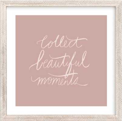 Collect Beautiful Moments Art Print 24x24 - Minted