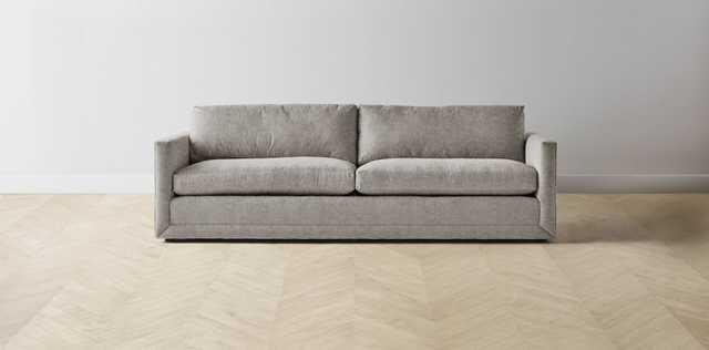 The Warren Sofa- 90 inch- Performance Oatmeal - Maiden Home
