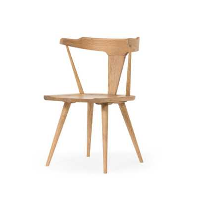 Ripley Dining Chair in Sandy Oak by BD Studio - Burke Decor