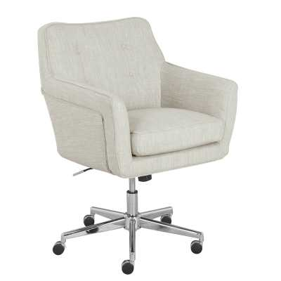 Serta Ashland Task Chair / Ivory - Wayfair