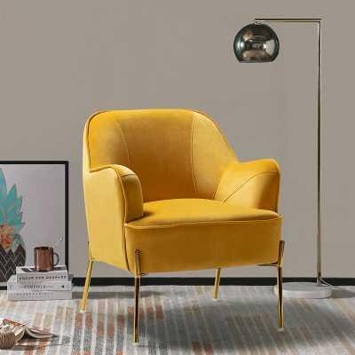 Erastus Armchair- Mustard - Wayfair