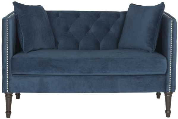 Soundview Chesterfield Settee - Wayfair