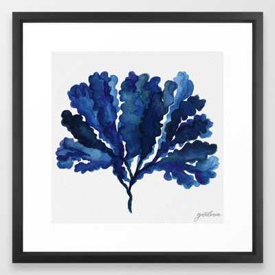 Sea life collection part III Framed Art Print - Society6