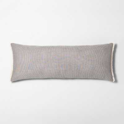Lumbar Throw Pillow Striped Double Weave - Hearth & Hand™ with Magnolia - Target