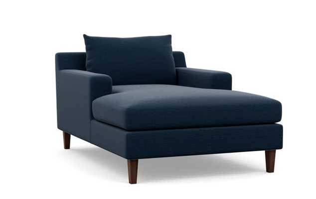 SLOAN CHAISE Chaise Lounge - ocean - Interior Define