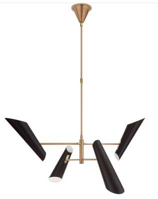 Franca Pivoting Chandelier, Small - McGee & Co.