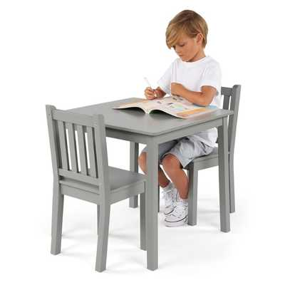 Albertville Kids 3 Piece Square Writing Table and Chair Set - Wayfair