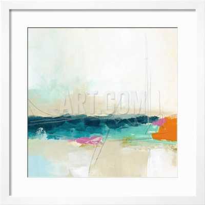 Atmospheric VIII, white frame - art.com