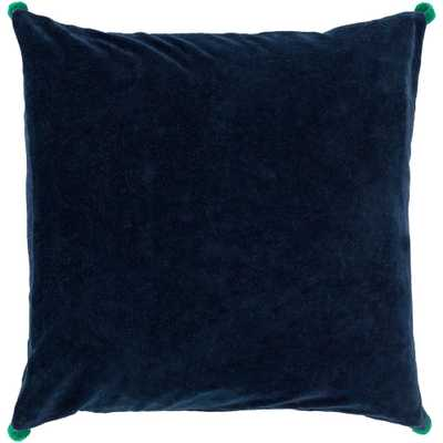 Zorrilla Poly Euro Pillow, Blue - Home Depot