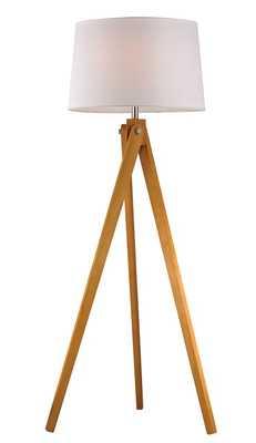 "Pelli 63"" Tripod Floor Lamp - AllModern"