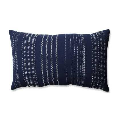 Tribal Stitches 100% Cotton Lumbar Pillow - Wayfair