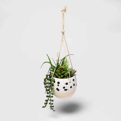 Speckled hanging planter - Project 62™ - Target