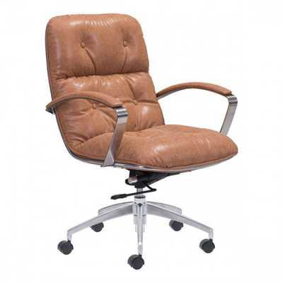 Avenue Office Chair Vintage Coffee - Zuri Studios