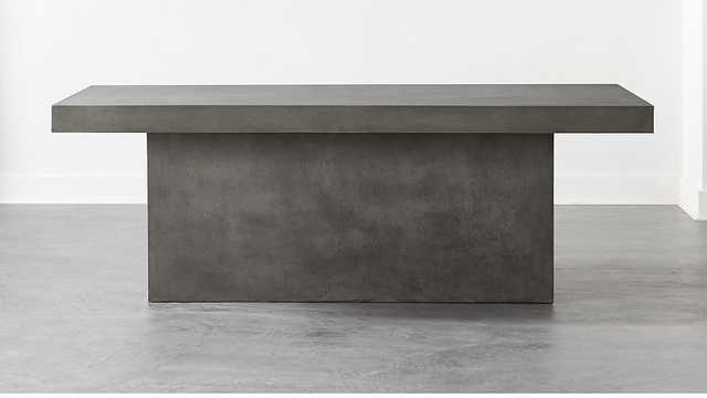 SPAN LARGE GREY DINING TABLE - CB2