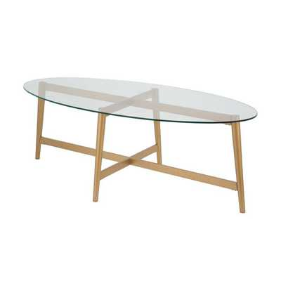 Emma Oval Coffee Table - Wayfair