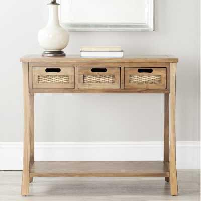 "Harwinton 34"" Solid Wood Console Table - Wayfair"