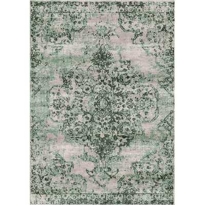 Aliza Handloom Green Area Rug - Wayfair