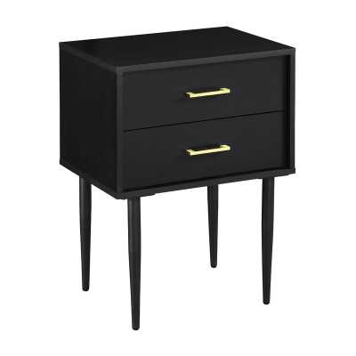 Pryor 2 Drawer Nightstand - AllModern