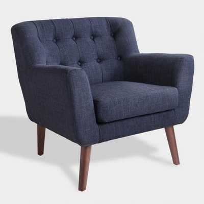 Navy Blue Mid Century Shay Chair by World Market - World Market/Cost Plus