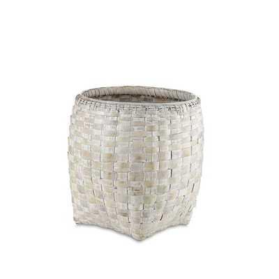 Bella Wicker Round Basket - Large - Wayfair